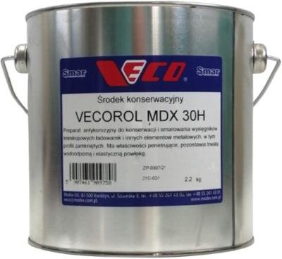 Smar do ślizgów, wysięgników VECO MDX 30H 2,2kg