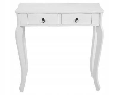 Столик Консоль Туалетный столик Современная Ретро белая