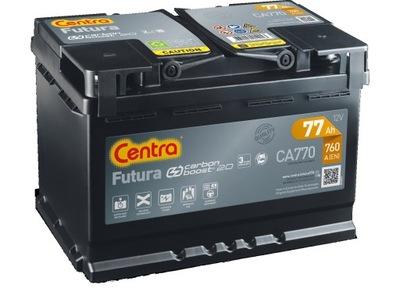 BATERÍA CA770 CENTRA FUTURA 77AH 760A