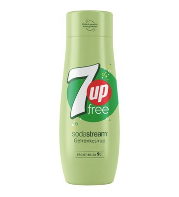 SYROP DO SATURATORA SODASTREAM 7UP ZERO CUKRU SOK