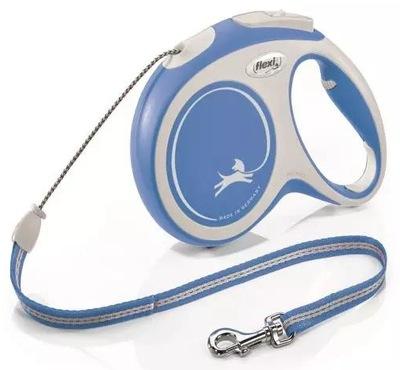 Flexi New Comfort M linka 8m - niebieska /804313/