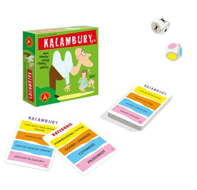 GRA KALAMBURY gra towarzyska wersja kieszonkowa