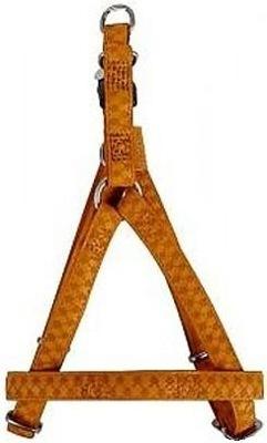 Szelki regulowane Mac Leather 20mm żółte 522060JA