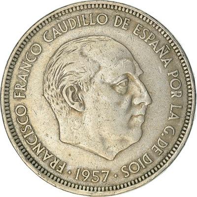Moneta, Hiszpania, Caudillo and regent, 50 Pesetas