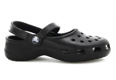 Buty CROCS klapki dziewczęce czarny 31