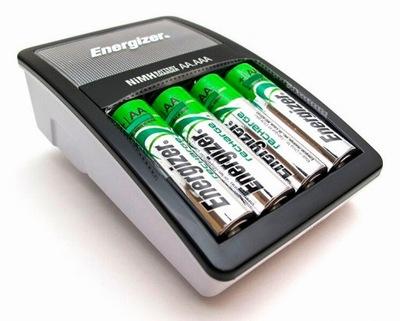 Ładowarka akumulatorów Energizer 2000mah 4x R6 AA