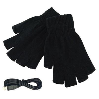 Zimowe rękawice ogrzewane USB ogrzewacz do rąk