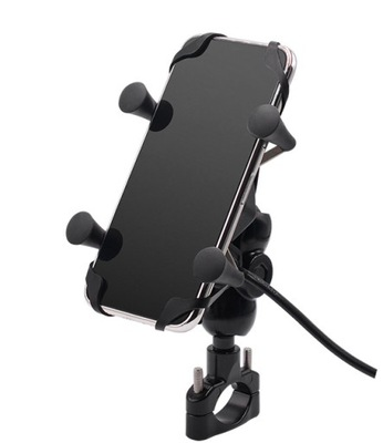 MOTOCYKL ДЕРЖАТЕЛЬ RAM NA TELEFON GPS USB 2A 3,5-6,5, фото