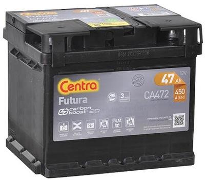 BATERÍA CENTRA FUTURA 47AH 450A CA472