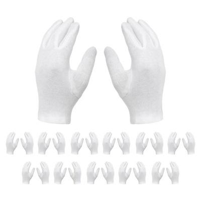 Rękawiczki Kosmetyczne Bawełniane Bawełna - 12 par