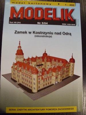1:400 Zamek Kostrzyn nad Odrą MODELIK 5/04