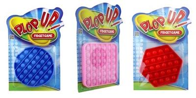 PUSH POP BUBBLE Zabawka Antystresowa Sensoryczna