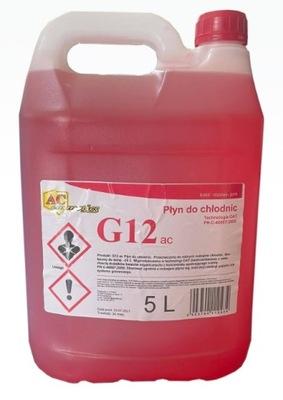 Glidex G12 AC Płyn chłodniczy różowy 5L