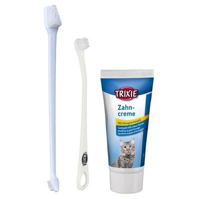 Трикси комплект ??? чистки зубов для кошек