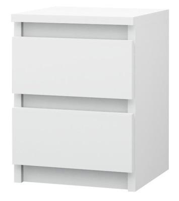 м2 / тумба 2 ящик КОМОД, журнальный СТОЛИК белая