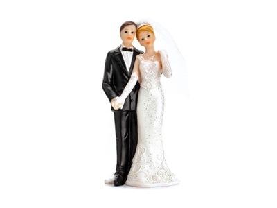 Figurka na tort weselny Młoda Para wesele 11cm