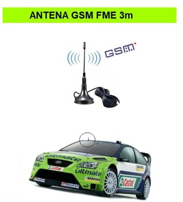 МИНИ АНТЕННА GSM GPRS СОЕДИНЕНИЕ FME MAGNETYCZNA 3 M