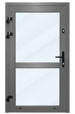 Drzwi z ALUMINIUM balkonowe tarasowe zewnętrzne