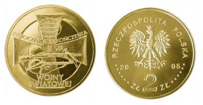 2 zł(2005) - 60. rocz. zakończenia II wojny świato