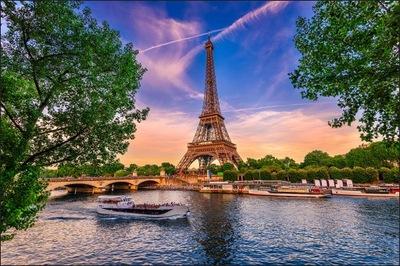 Fototapeta do jadalni Paryż wieża Eiffla 150x225