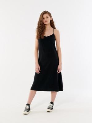 Sukienka długa jeans OUTHORN SUDD603 L21