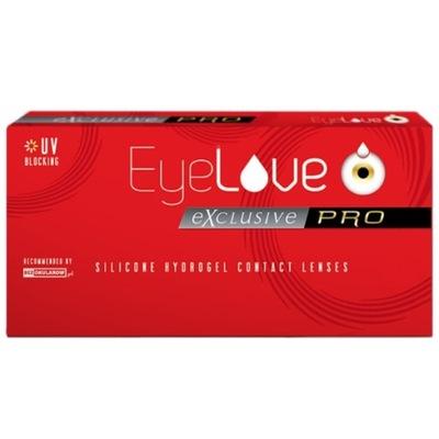 Soczewki miesięczne EyeLove Exclusive PRO 6szt