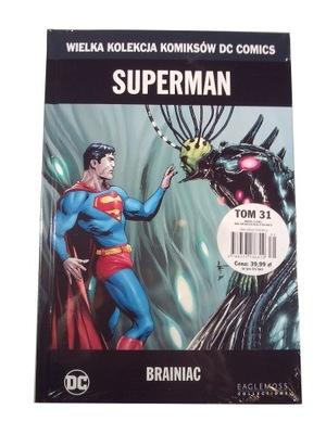 WKKDC 31. SUPERMAN BRAINIAC - nowy