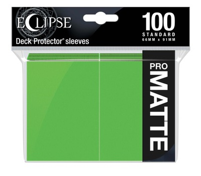 Ultra PRO - Eclipse Matte Sleeves - Lime Green