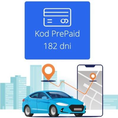 APLIKACJA FLOOMLI CÓDIGO PREPAID 182 DNI GPS EUROPA