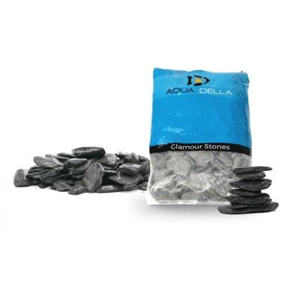 Aqua Della Гравий Pebbels Black 2кг камень Черный