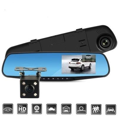 Video rejestrator FHD Kamera samochodowa Lusterko