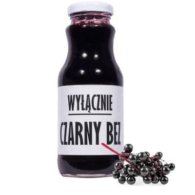 sok czarny bez 100% sok z bzu naturalny 250ml
