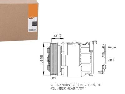 КОМПРЕССОР КОНДИЦИОНЕРА VW LT 28-35 II 2.3 (2DB. 2D