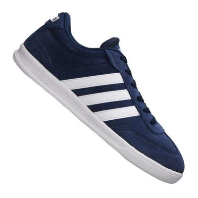 Buty m?skie Adidas Neo VL Court 46 23 nowe niebieskie