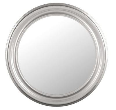 Okrúhle zrkadlo, strieborné, škandinávske 70, ako napríklad SONGE