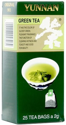 чай экспресс ЮНЬНАНЬ Г 901 GREEN 25 тб.
