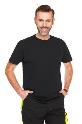 Koszulka T-shirt JHK 190g czarny 4XL