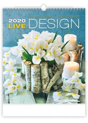 Календарь LIVE DESIGN 2020 КРАСИВЫЙ НА подарок 45x52