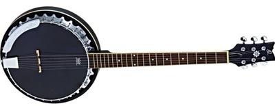 Ortega OBJE350/6 SBK Banjo 6-cio strunowe z przyst