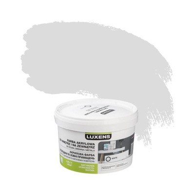 Farba wewnętrzna DO ŚCIAN I SUFITÓW 2.5 l White LU