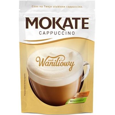 Mokate капучино ванильным вкусом 110г