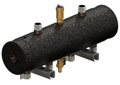 Hydraulická spojka, rozdeľovač 2D + 40kW rotačná