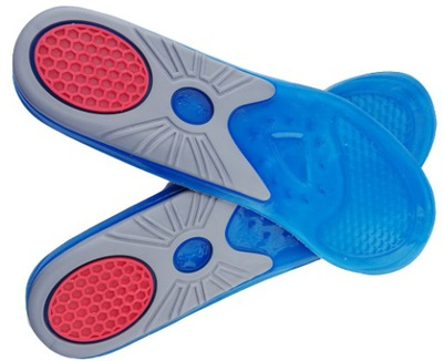 WKŁADKI do butów SPORTOWE amortyzujące żelowe42-43