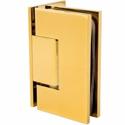 Zawias do drzwi szklanych | mosiądz | szkło-ściana
