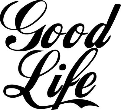 НАКЛЕЙКА АВТОМОБИЛЬ МОТОЦИКЛА GOOD LIFE