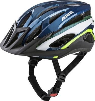 Kask rowerowy Alpina MTB 17 DARKBLUE-NEON 58-61
