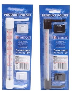 Ramco termometr zaokienny 190/18mm przyklejany