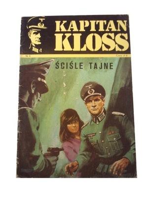 KAPITAN KLOSS 5. ŚCIŚLE TAJNE 1971 r. wyd. 1 BŁĄD