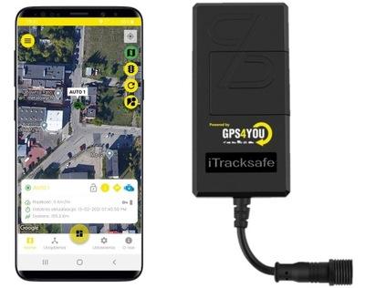 ЛОКАТОР GPS 3G MONITORING UE ODCIECIE ЗАПАЛИВАНИЯ