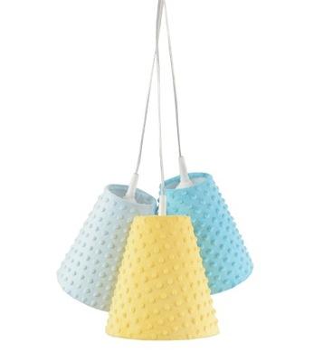 Lampa visí Zvony Minky Mix Slnečná